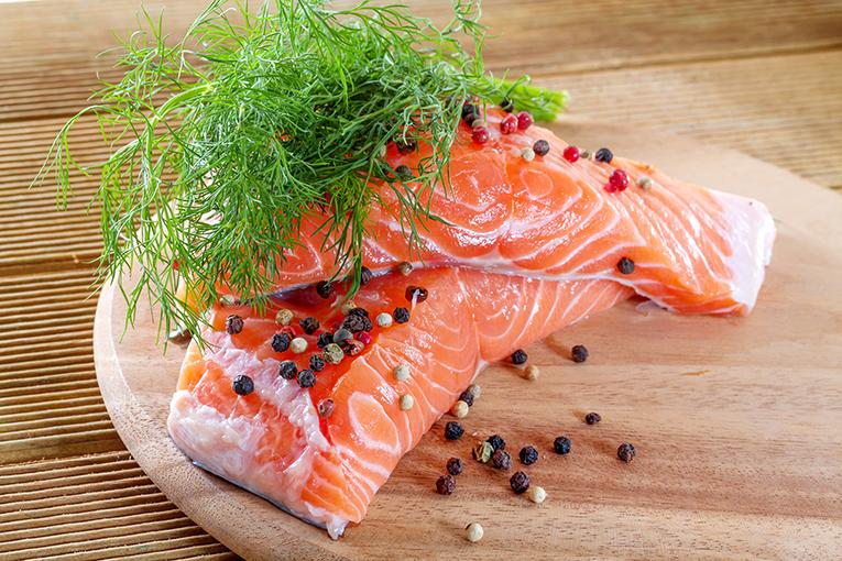 salmon ricos manjares