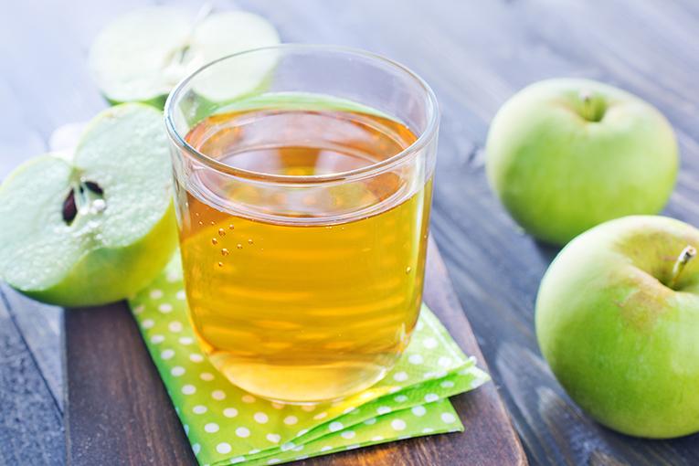 zumo manzana ricos manjares